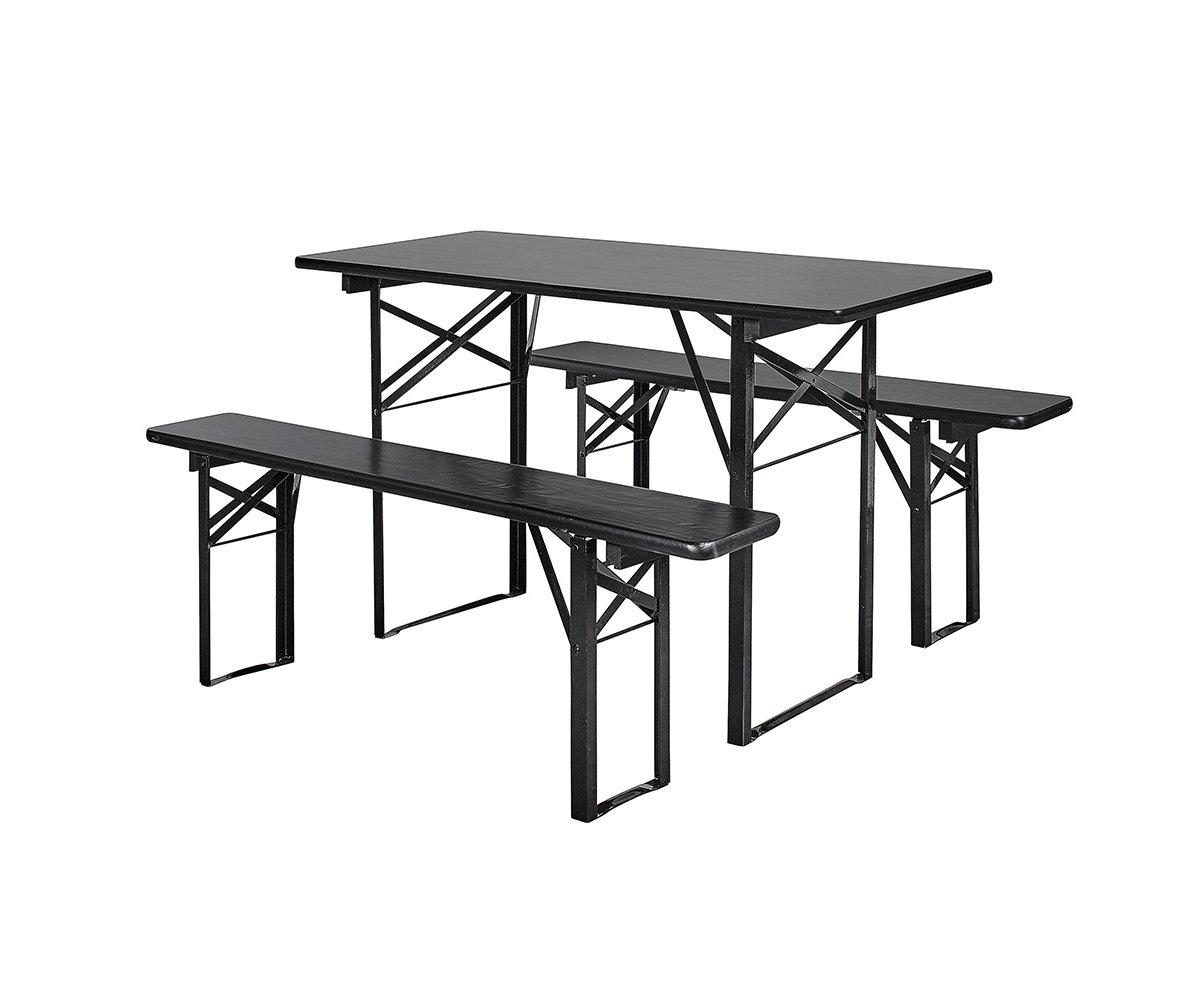 Table et banc extérieur bois de pin