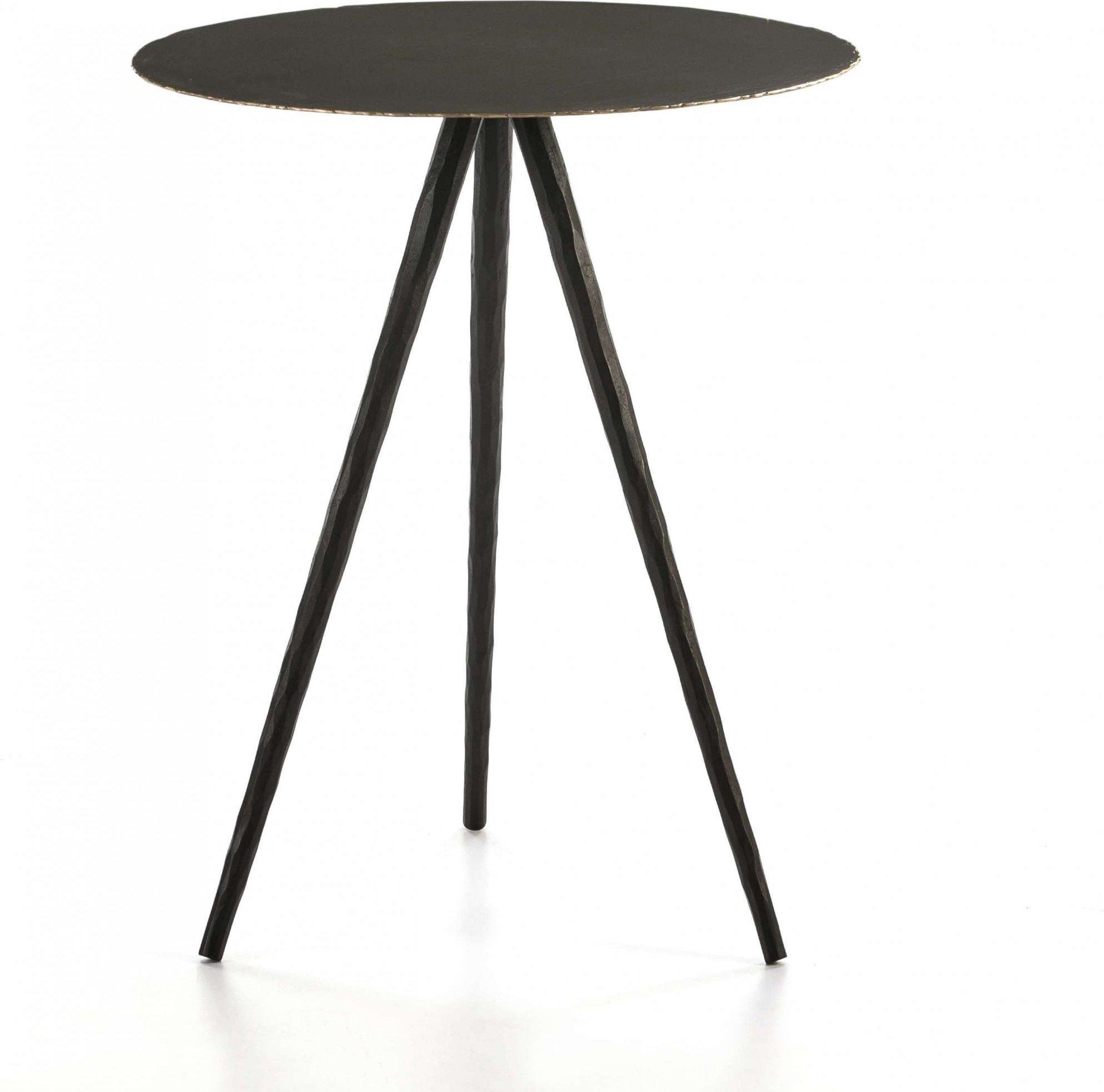 Table d'appoint ronde ronde d46cm