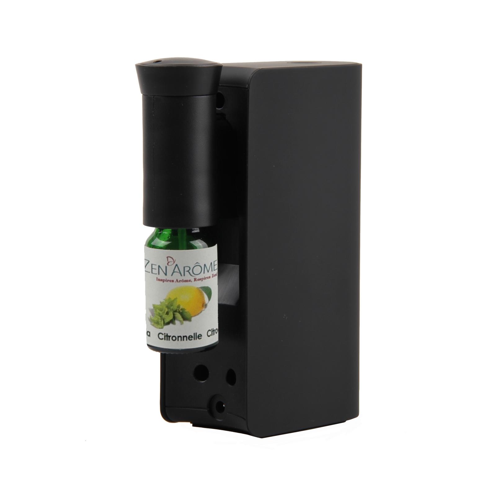 Diffuseur d'huiles essentielles par nébulisation Mobysens noir