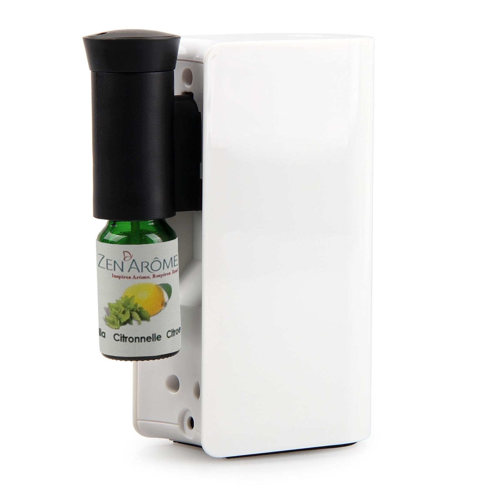Diffuseur d'huiles essentielles par nébulisation Mobysens blanc