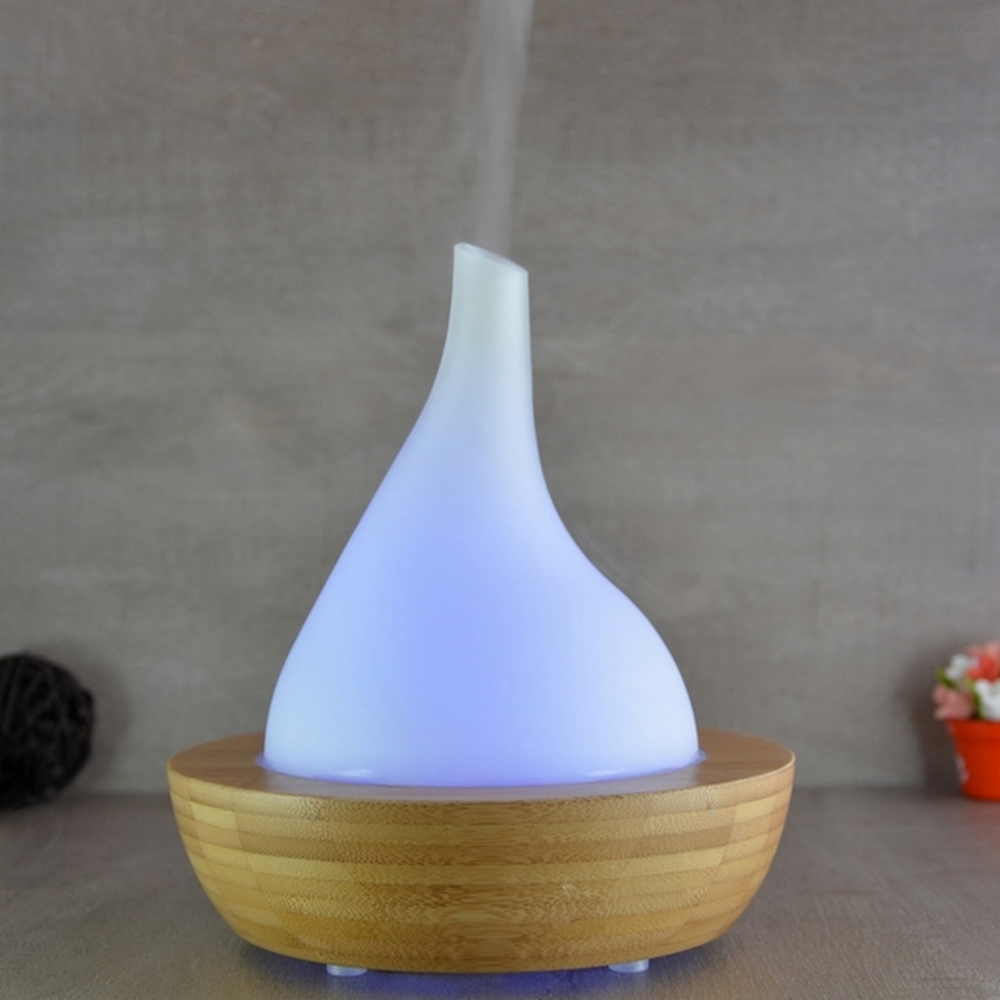 Diffuseur d'huiles essentielles ultrasonique en verre Elegansia