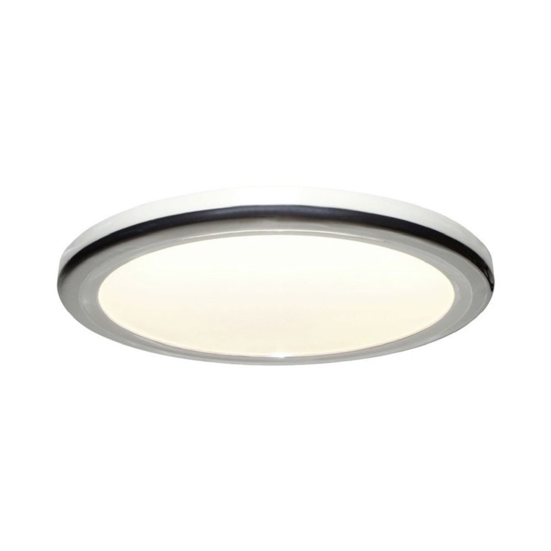 Plafonnier LED de salle de bain métal/polycarbonate D30cm