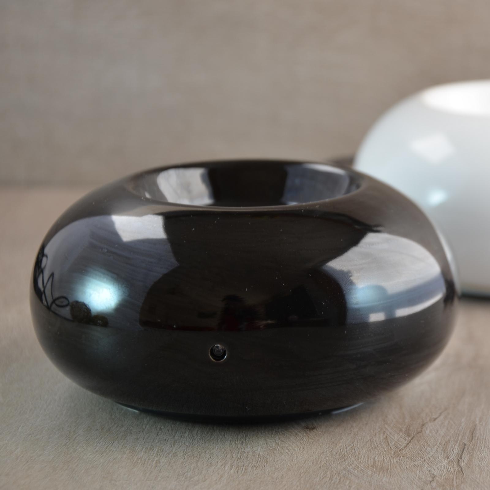 Diffuseur d'huiles essentielles par chaleur douce Cosy noir