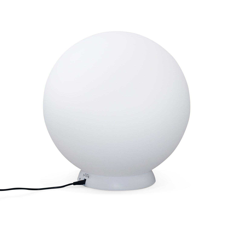 Sphère décorative lumineuse LED 16 couleurs D30cm