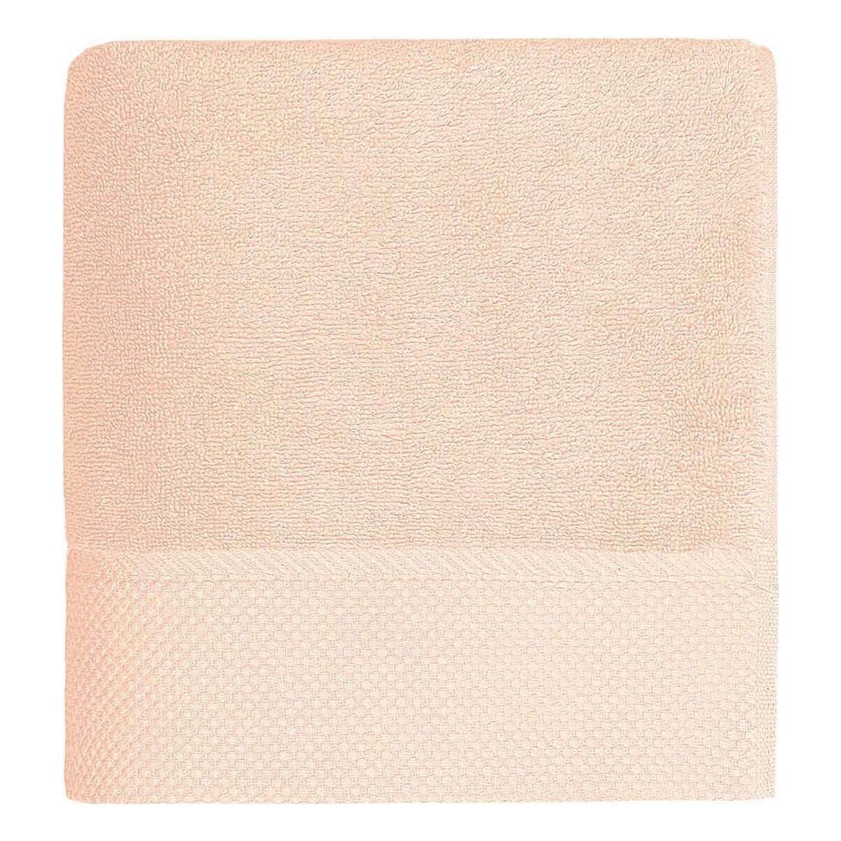 Drap de bain 560gr/m² Rose Poudre 70x140 cm