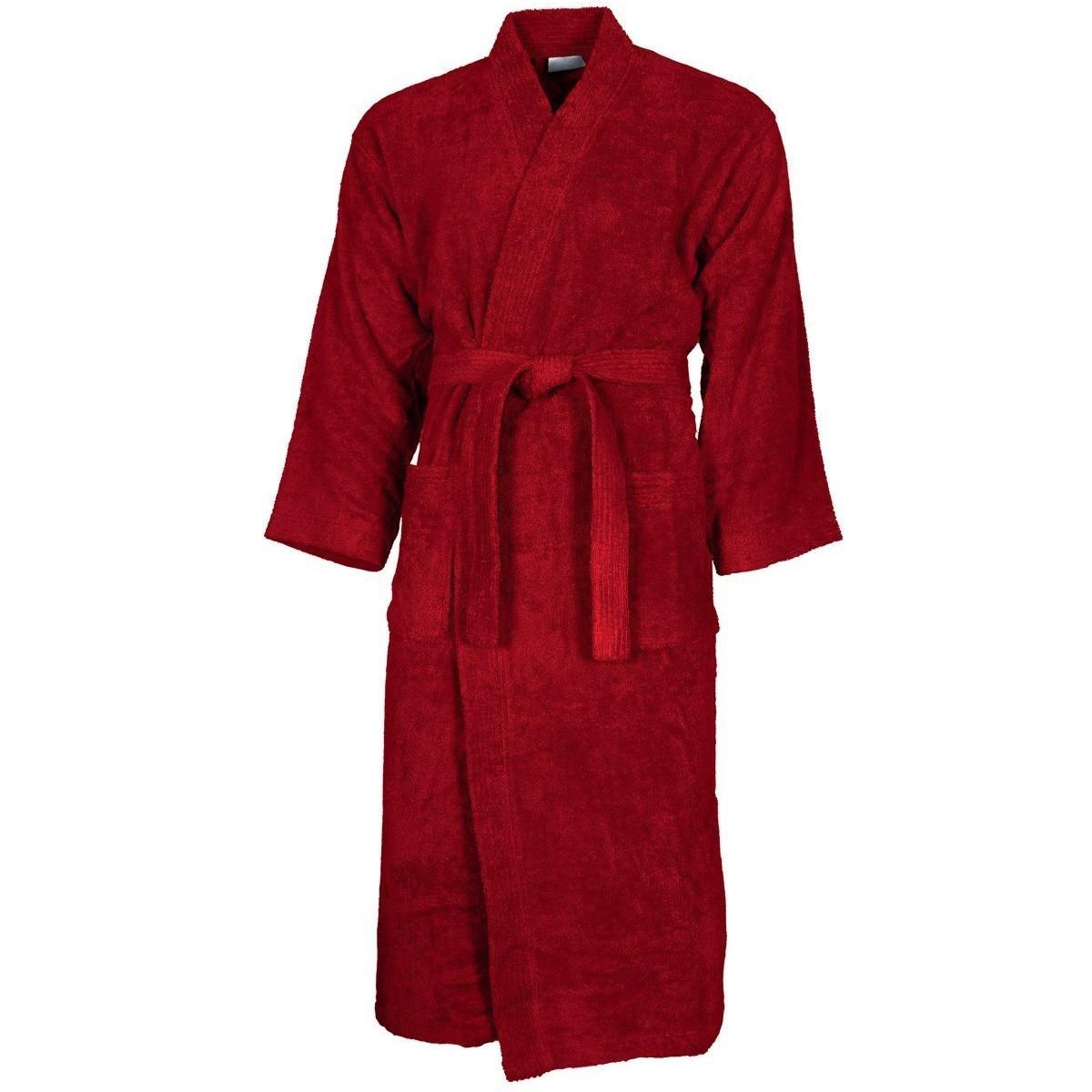 Peignoir col kimono Rubis S