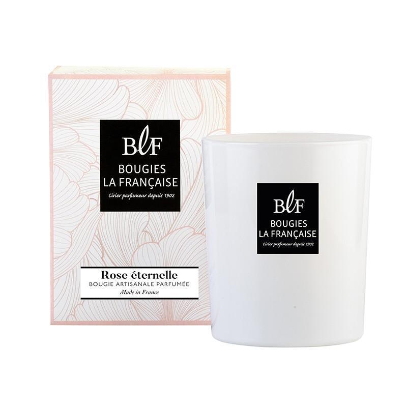 Coffret bougie parfumée 50h rose éternelle