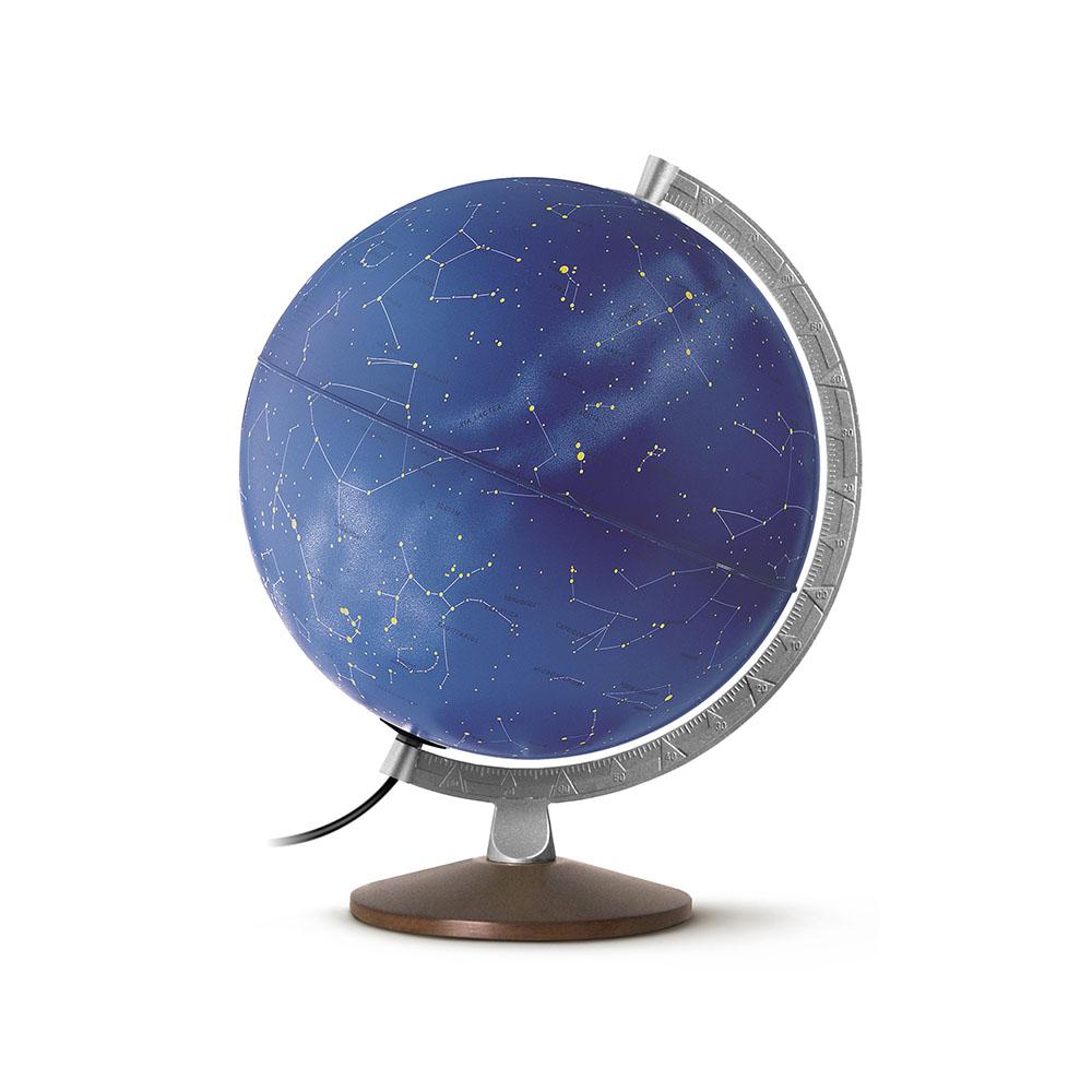 STELLARE PLUS - Globe stellaire/zodiacale, lumineux, textes en latin