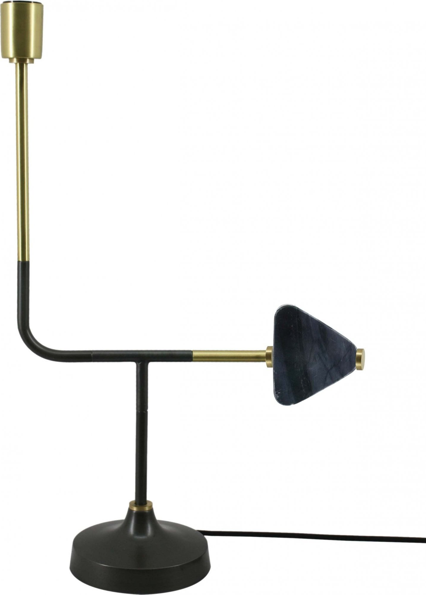 Lampe de table design couleur noir
