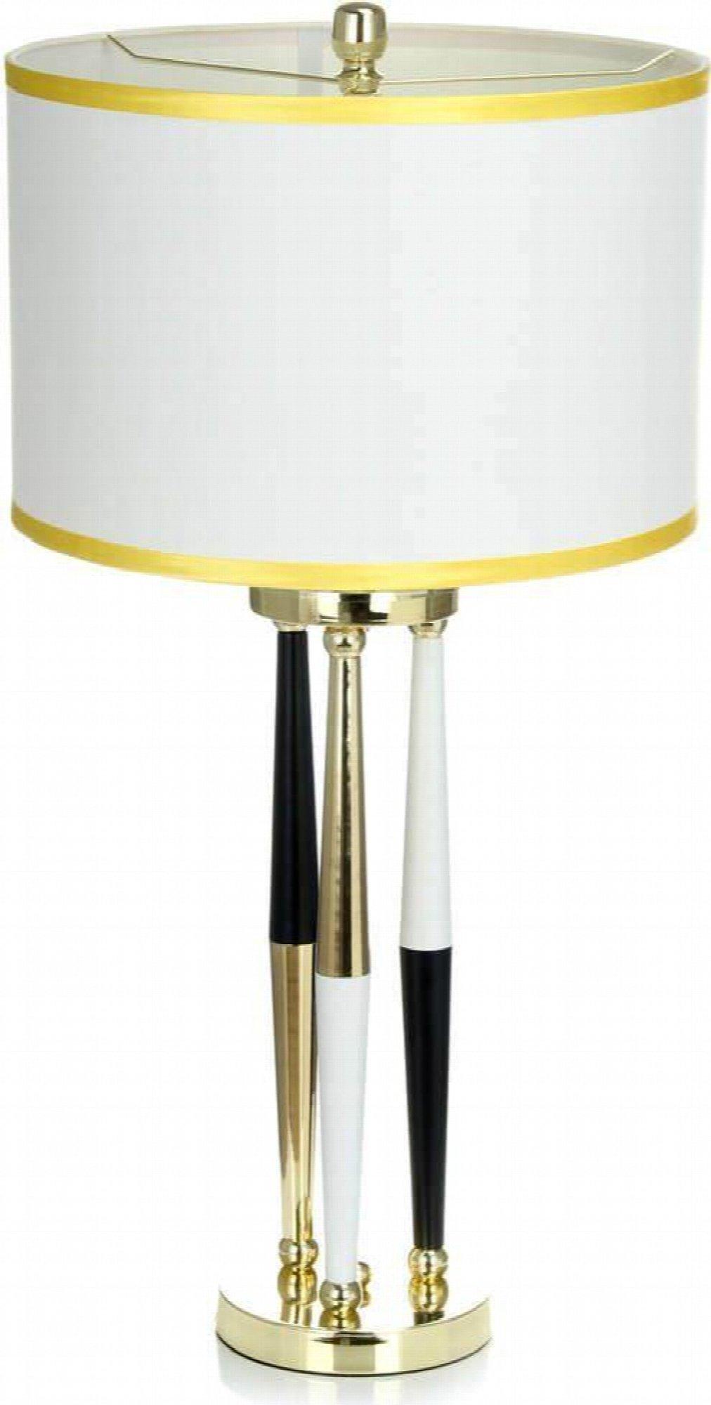 Lampe de table design couleur blanc