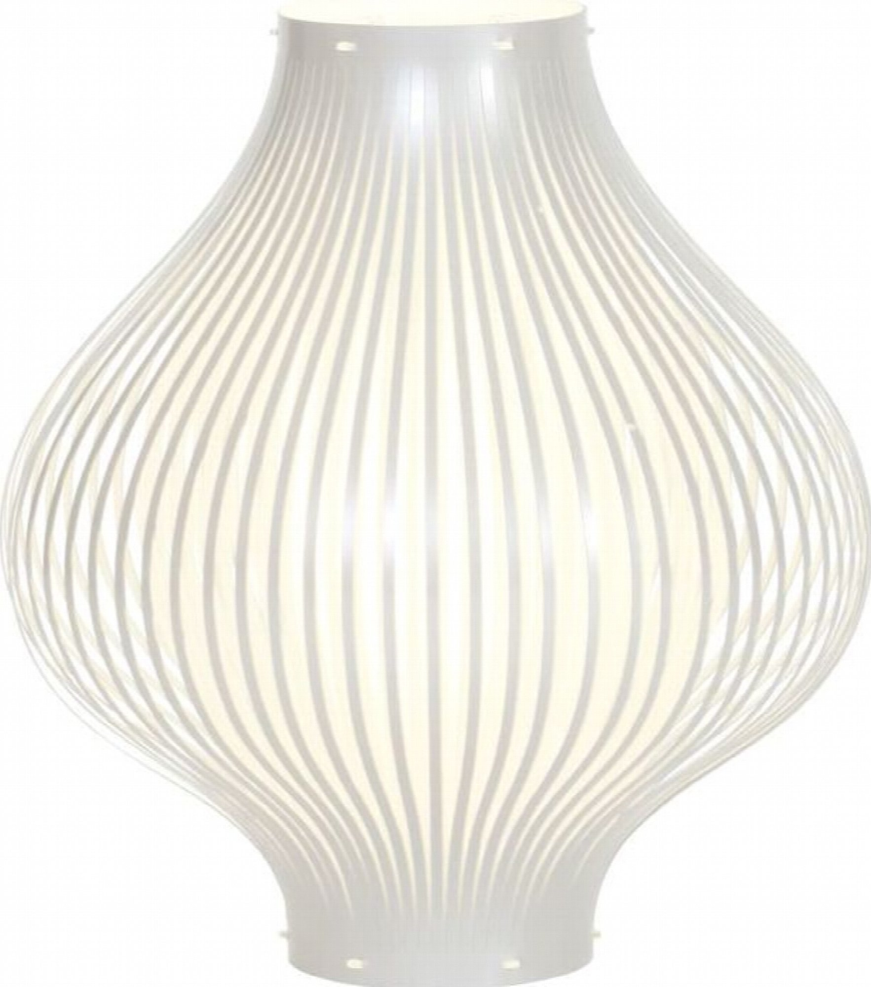 Lampe de salon design couleur blanc