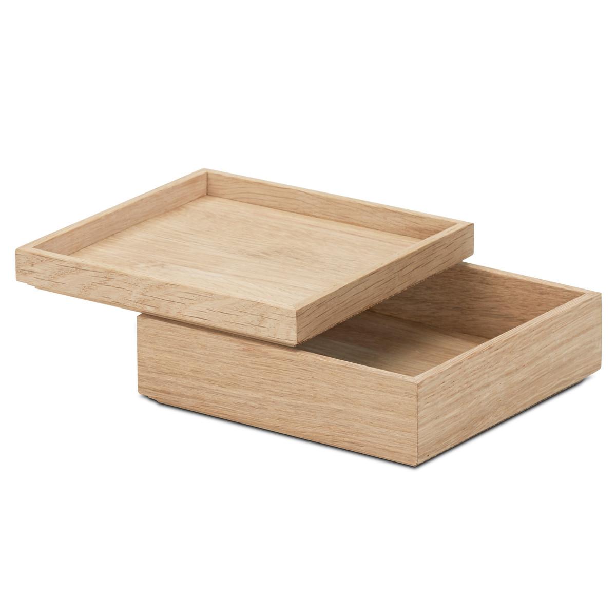 Boîte en bois 7.5x14x16