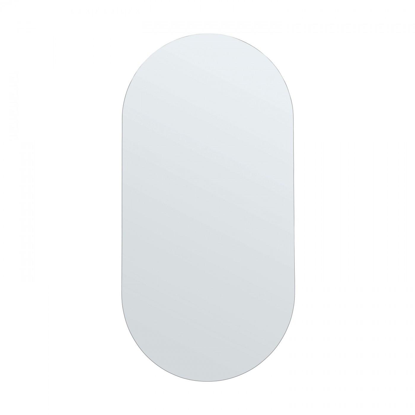 Miroir ovale 50x100