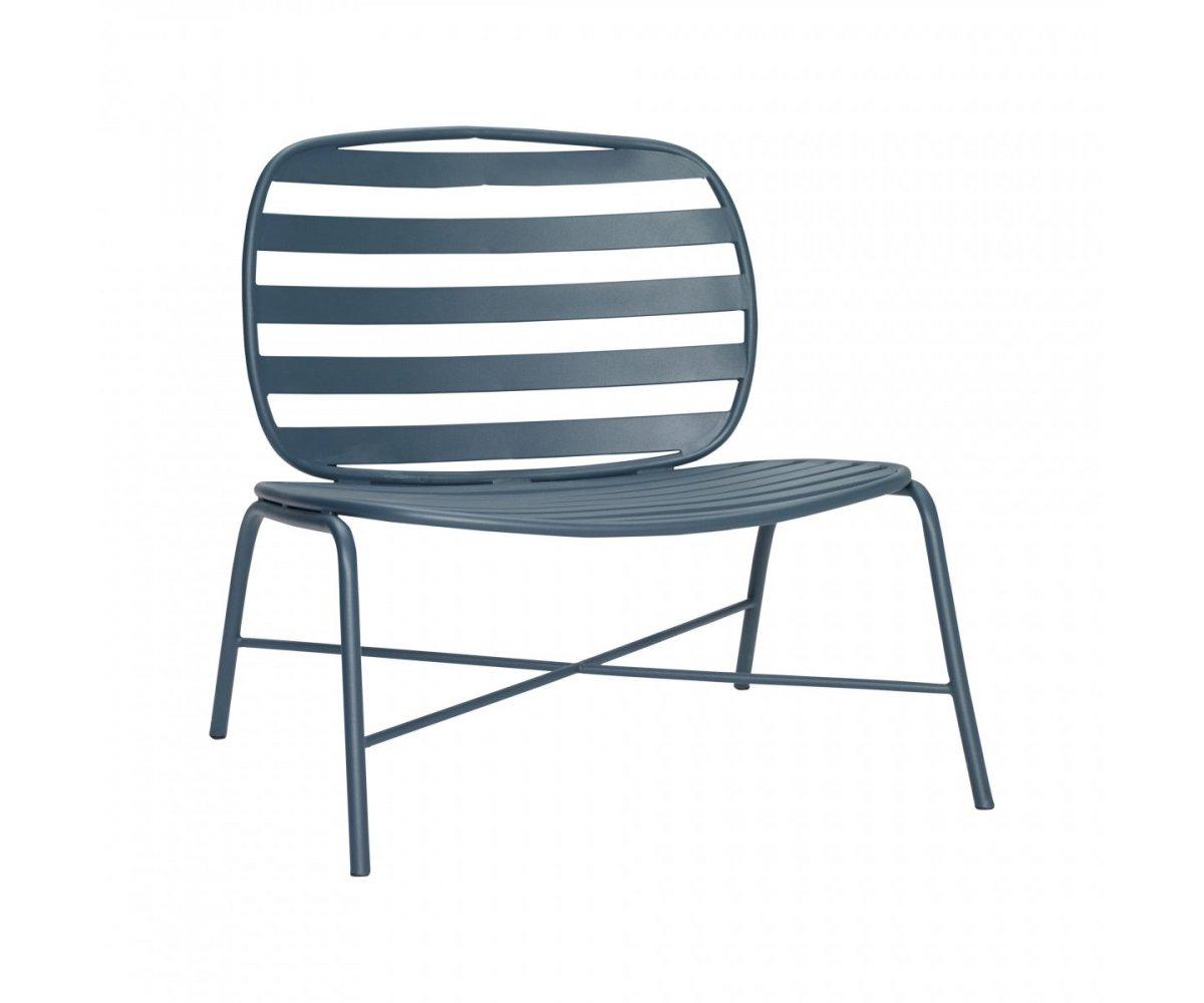 Chaise lounge extérieur en métal - Hubsch
