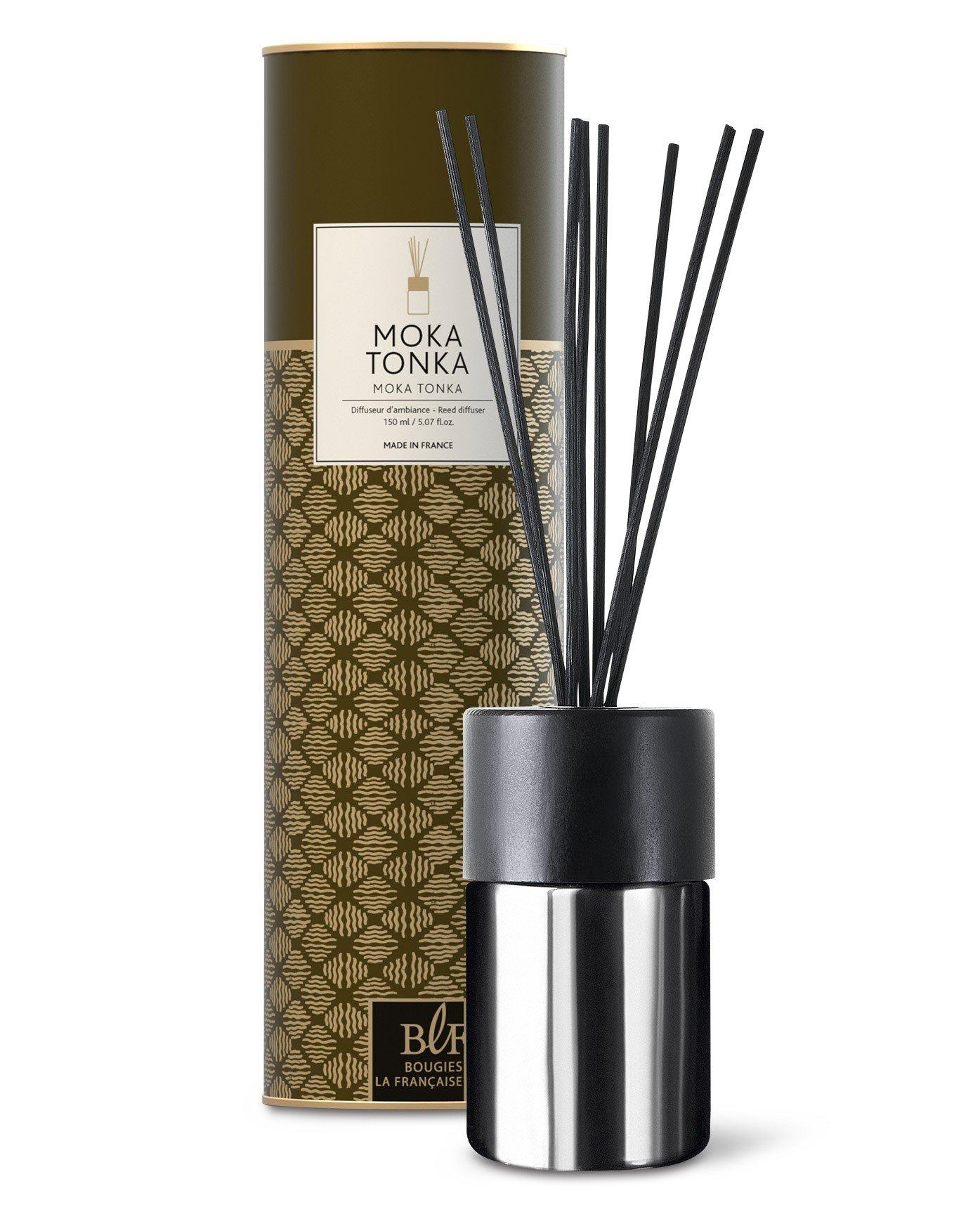Diffuseur de parfum à tiges 150ml, moka tonka