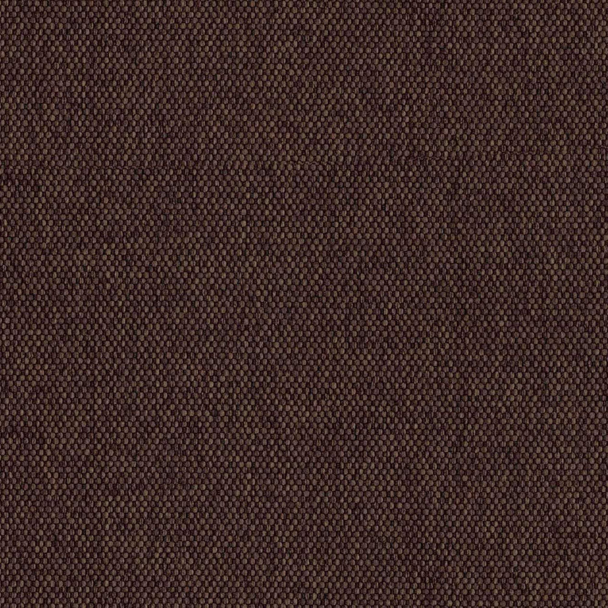 Canapé tissu 2 places marron h45cm