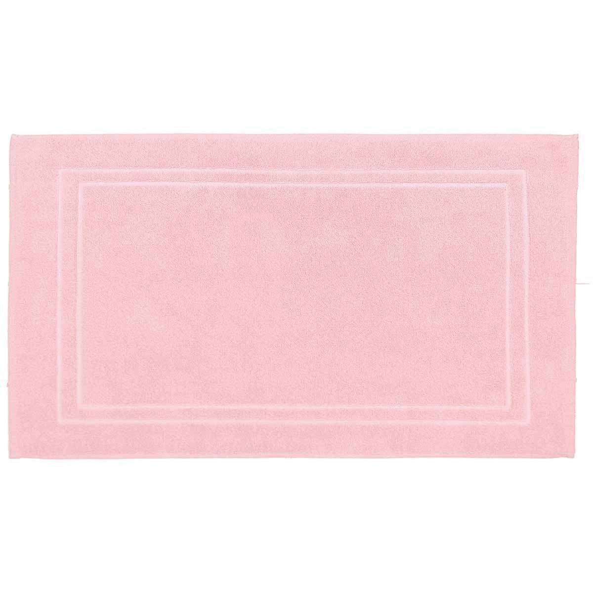 LUXURY - Tapis de bain 900gr/m²  Rose 50x80 cm