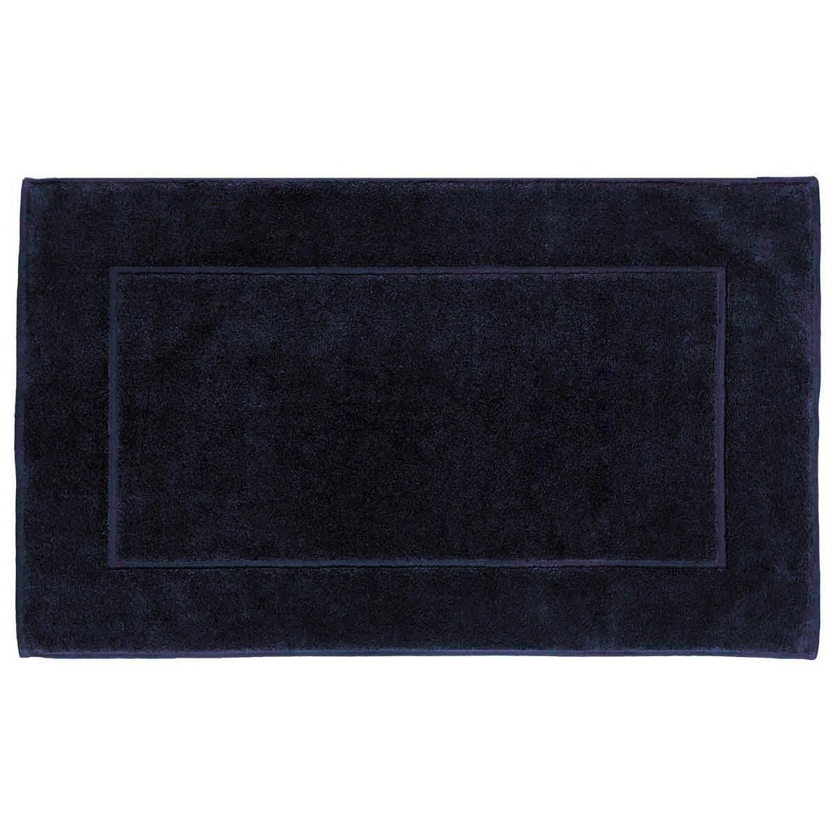 SENSOFT - Tapis de bain 60x100cm 1000gr/m²  Bleu Nuit
