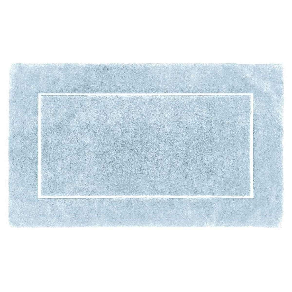 Tapis de bain 60x100cm 1000gr/m² Bleu Arctic