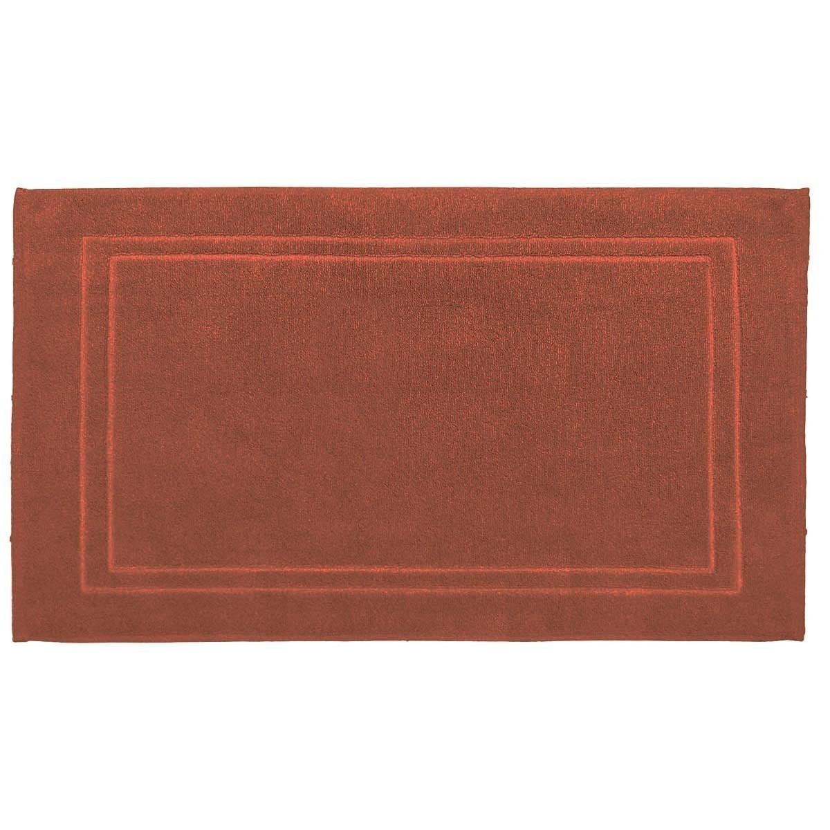 LUXURY - Tapis de bain 900gr/m²  Terracota 50x80 cm