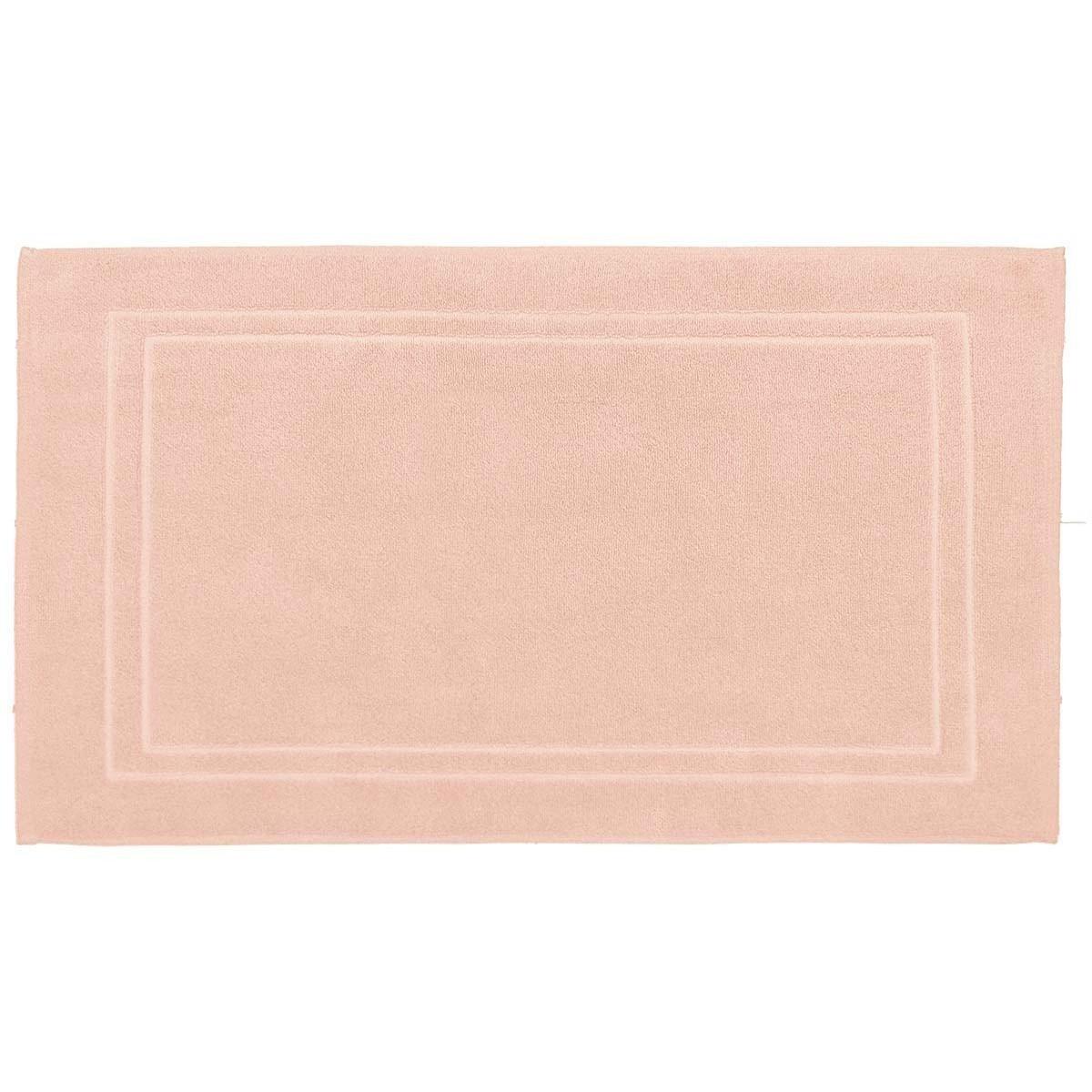 Tapis de bain 900gr/m²  Rose Poudre 50x80 cm