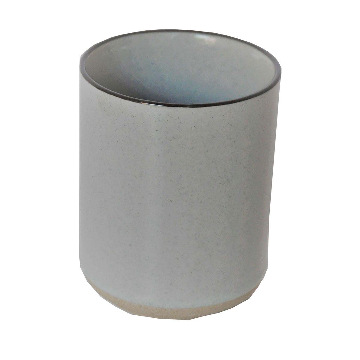 Gobelet bicolore gris