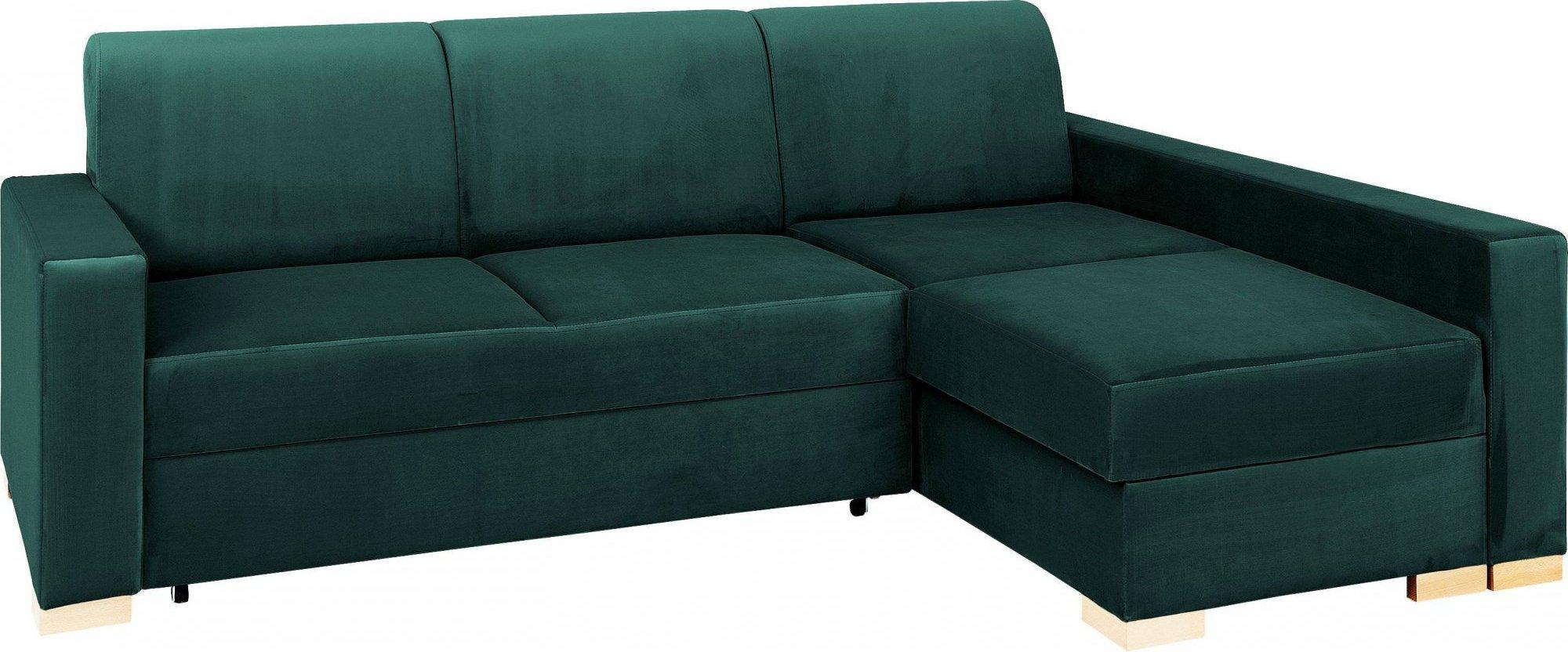 Canapé d'angle 3 places Design Confort Vert