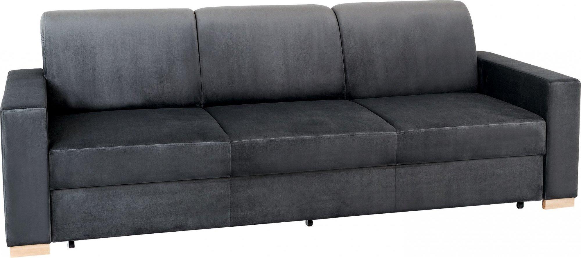 Canapé 3 places tissu gris lilas h40cm