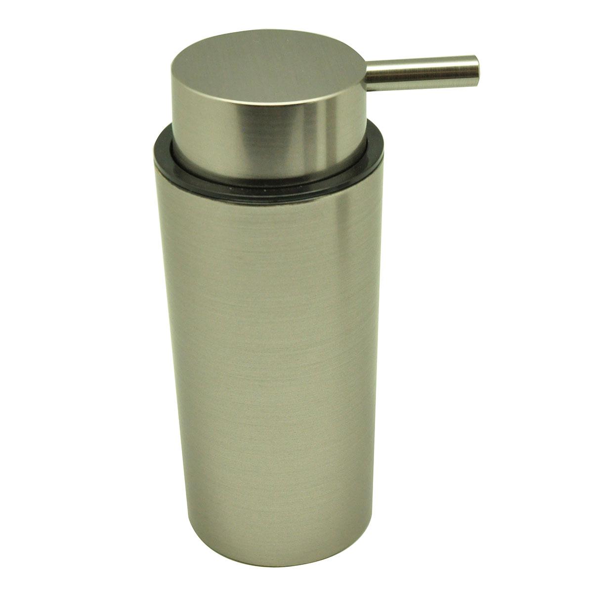 Distributeur de savon à effet métal