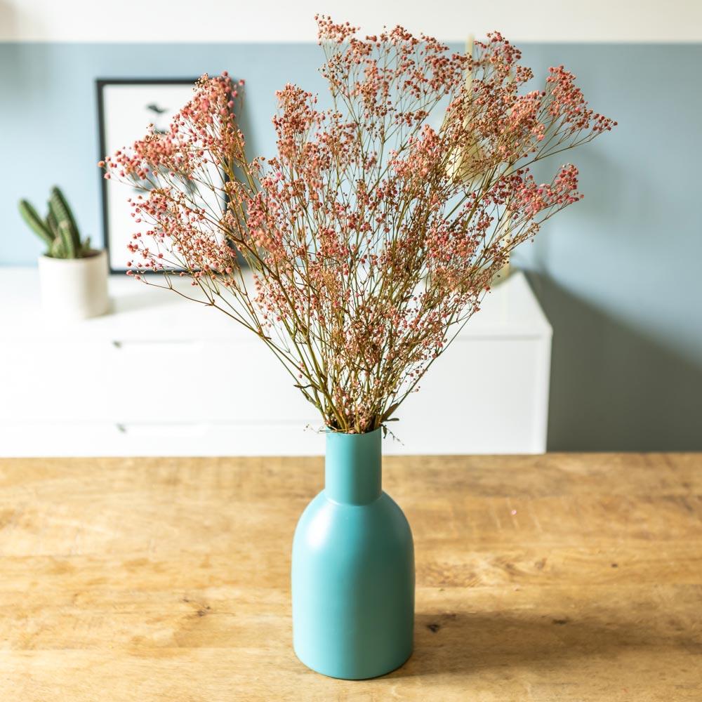 Botte de fleurs séchées Gypsophile rose 100g