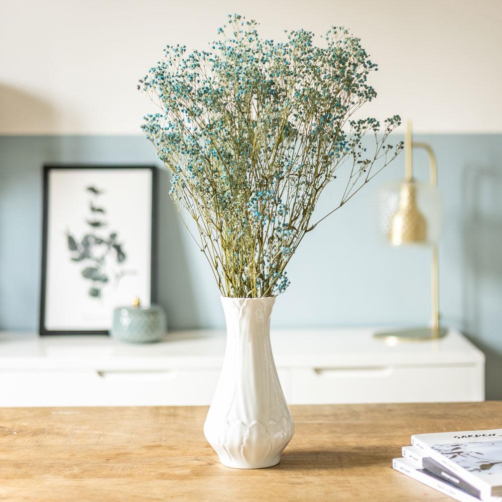 Botte de fleurs séchées Gypsophile bleu 100g