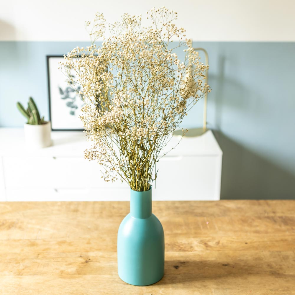 Botte de fleurs séchées Gypsophile blanc environ 100g