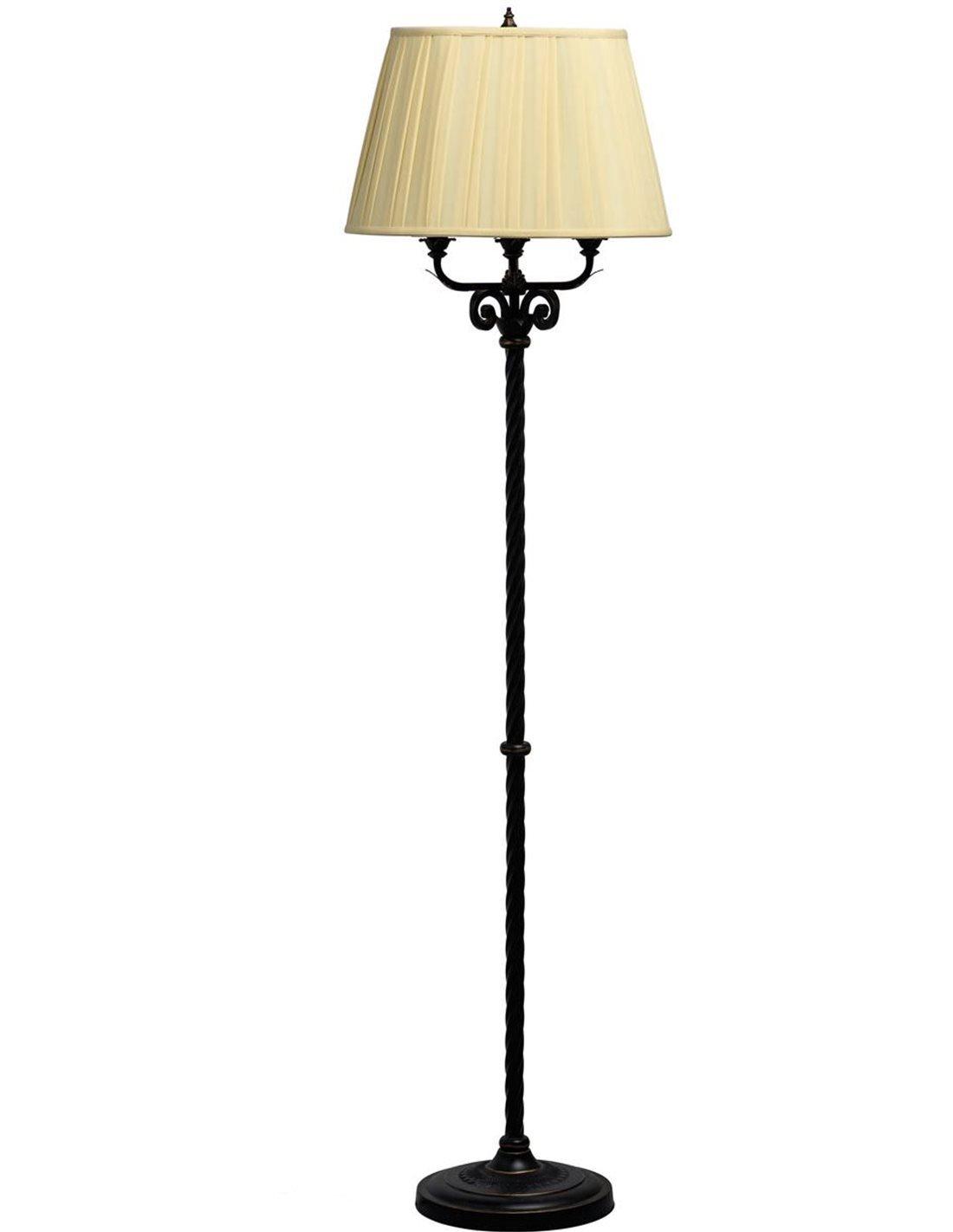 Lampadaire design couleur beige