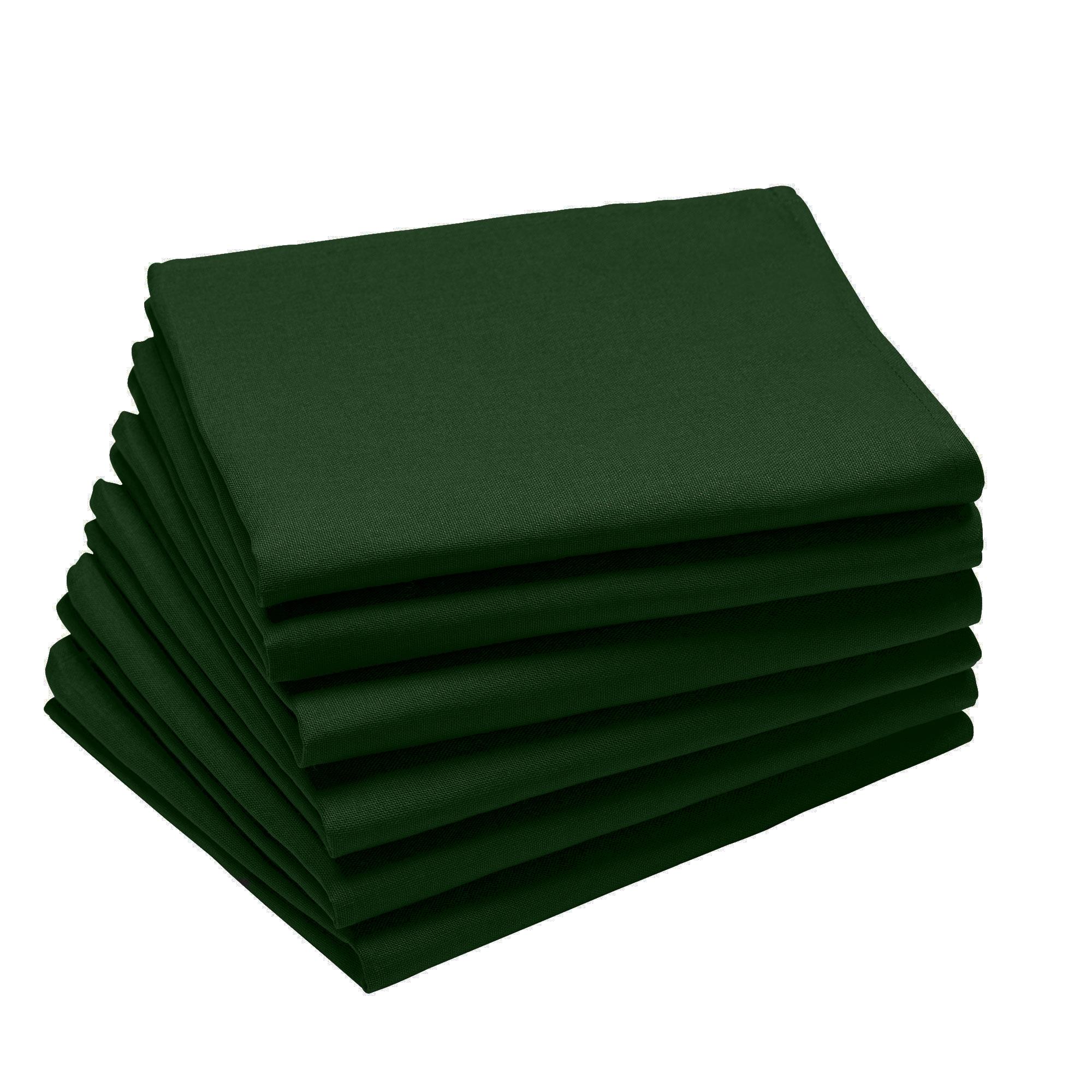 Lot de 6 serviettes en coton traite Teflon, Cypres 45 x 45