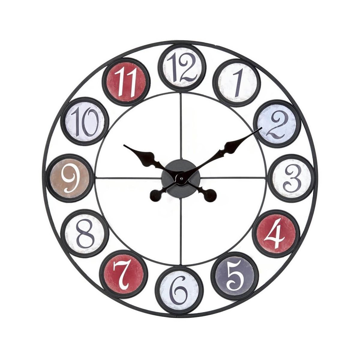 Horloge métal D60