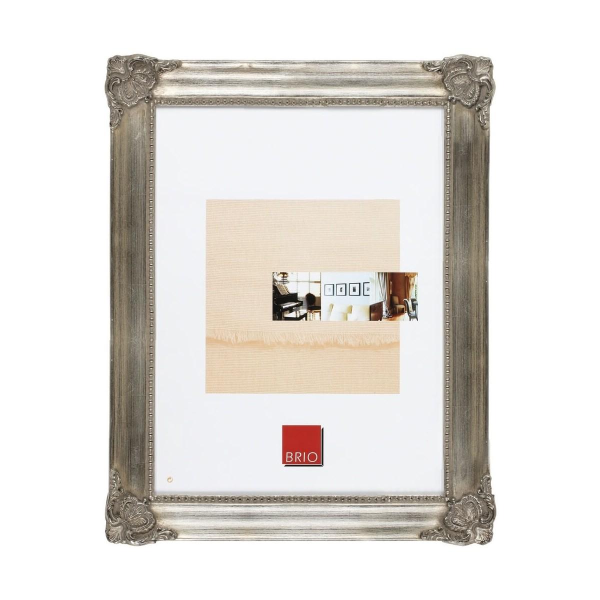 Cadre photo bronze 20x30 cm bois massif