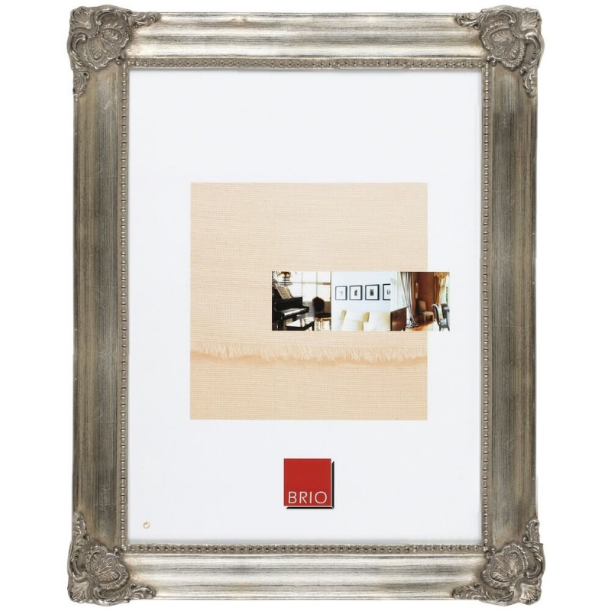 Cadre photo bronze 24x30 cm bois massif