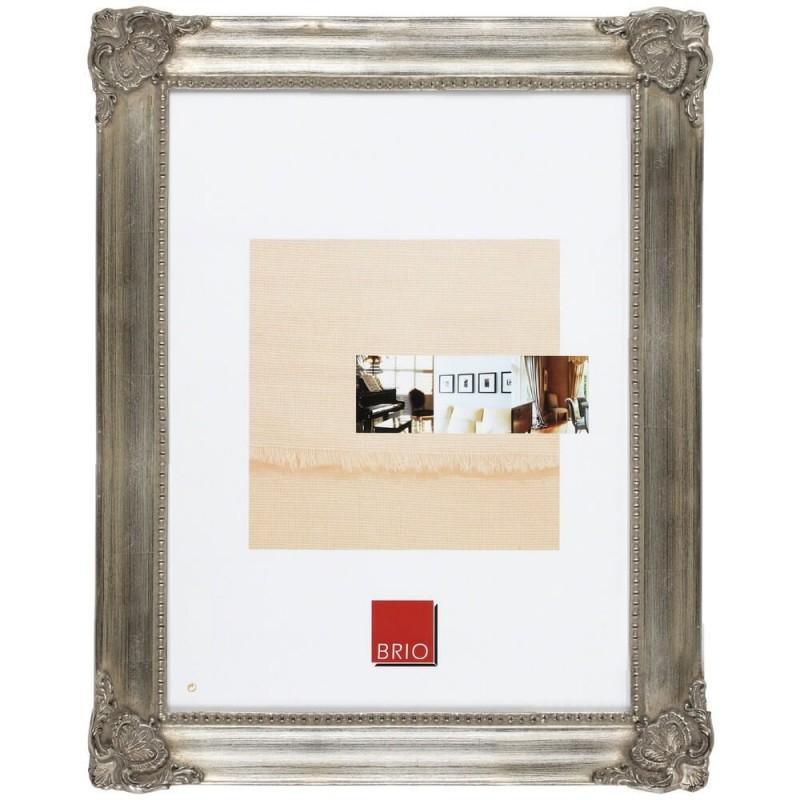 Cadre photo bronze 40x50 cm bois massif