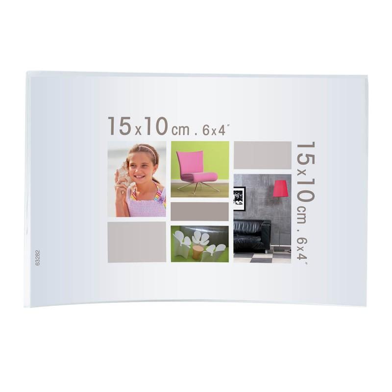 Cadre photo courbe plexiglas® 10x15