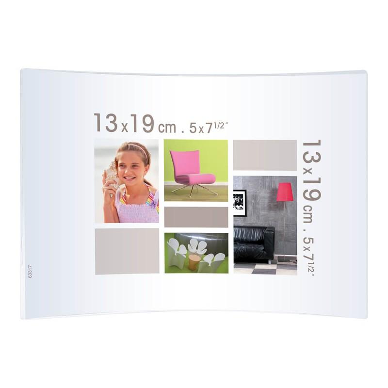 Cadre photo courbe plexiglas® 13x19
