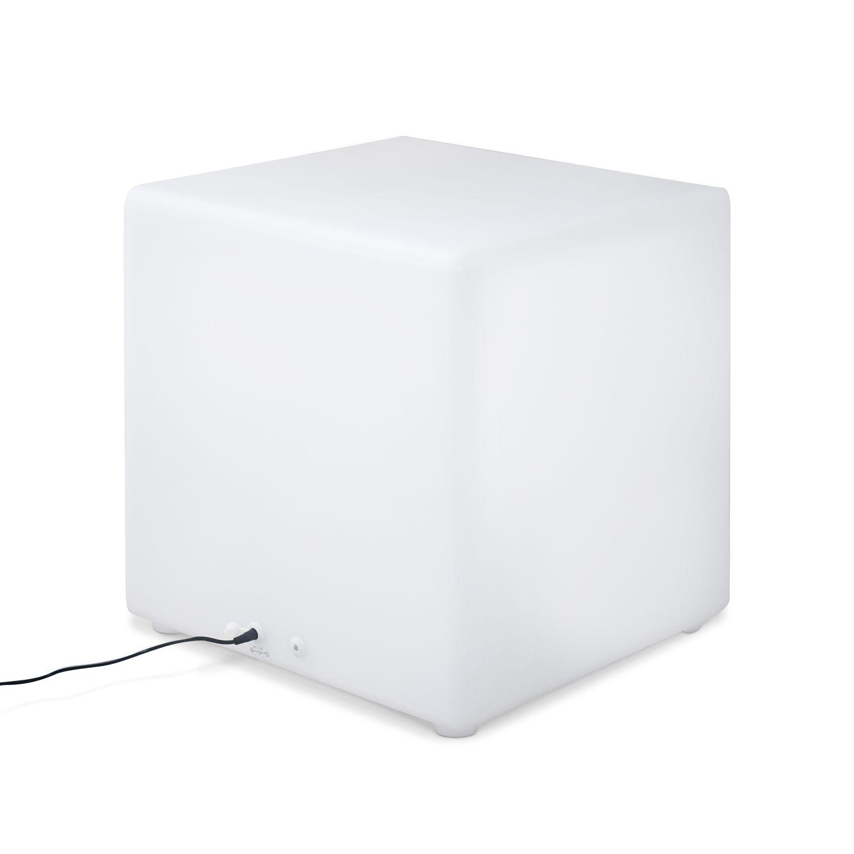 Cube décoratif lumineux LED 40cm 16 couleurs