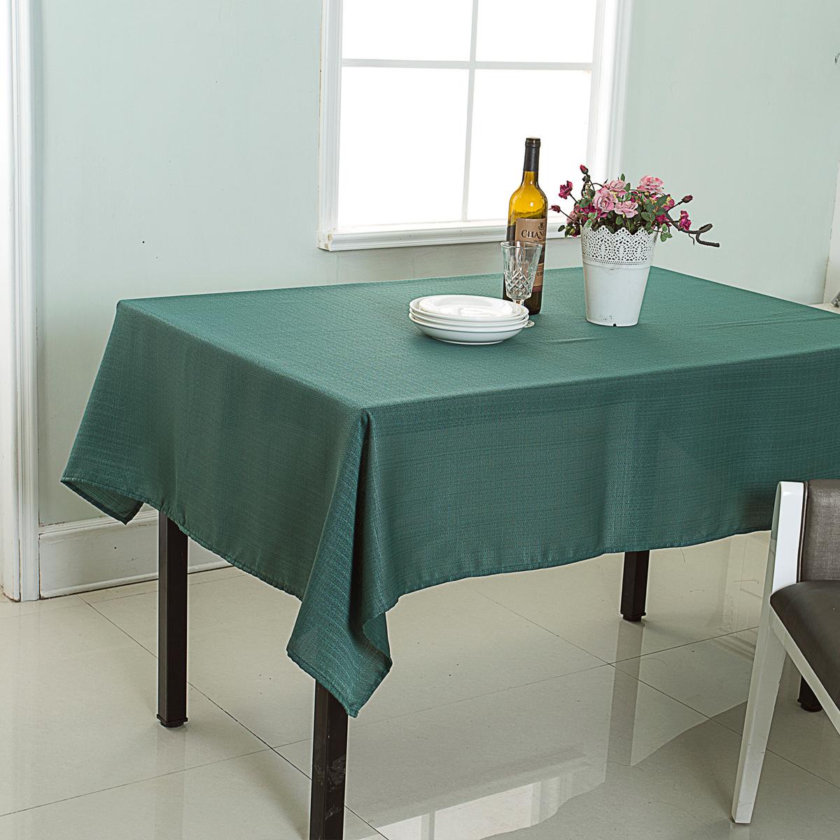 Nappe anti-taches polyester vert 240x140