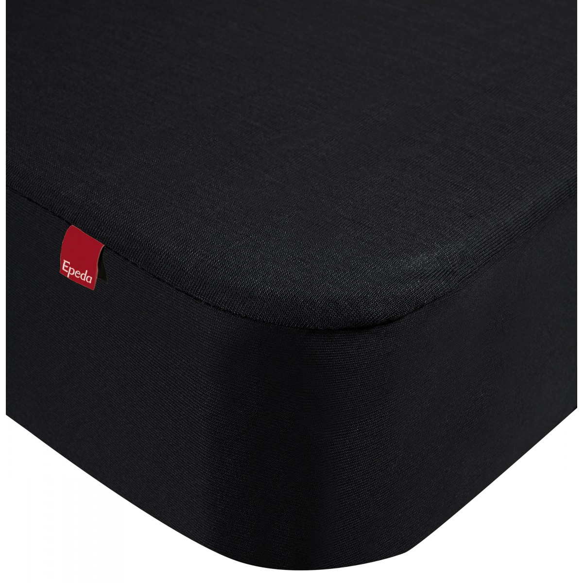Drap housse protège matelas imperméable 2 en 1  noir 140x190/200