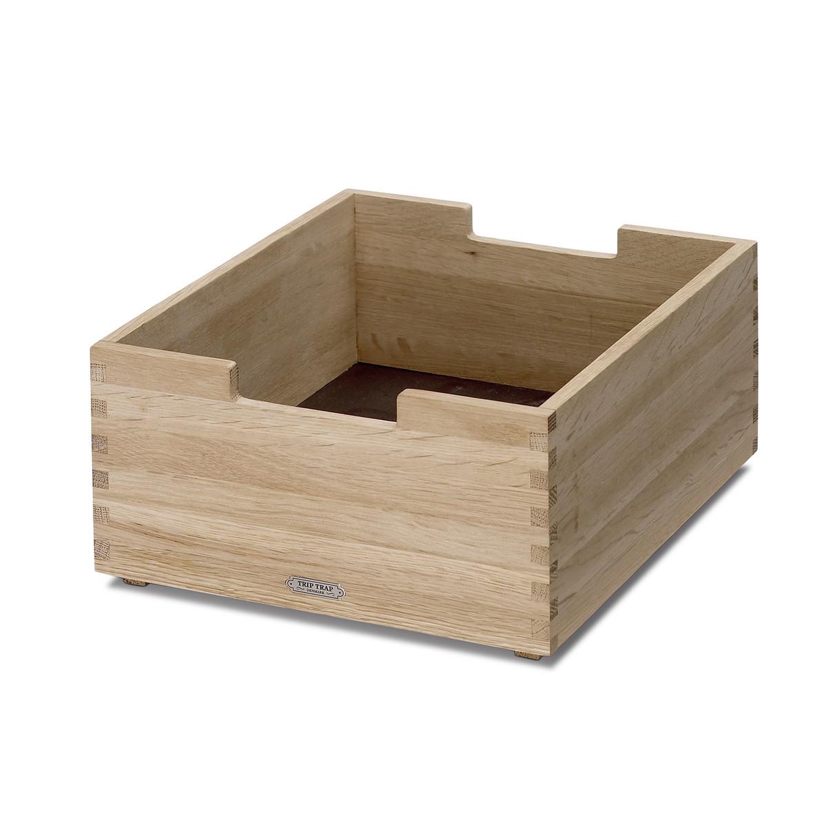 Petite boîte en chêne 30x26