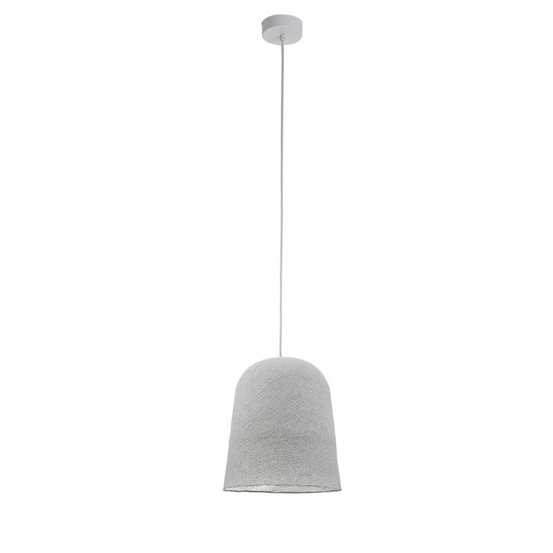 Suspension simple gris perle
