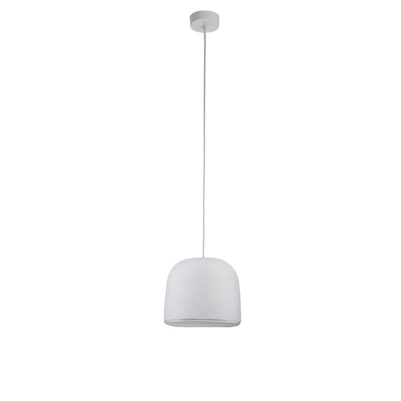 Suspension simple cloche blanc