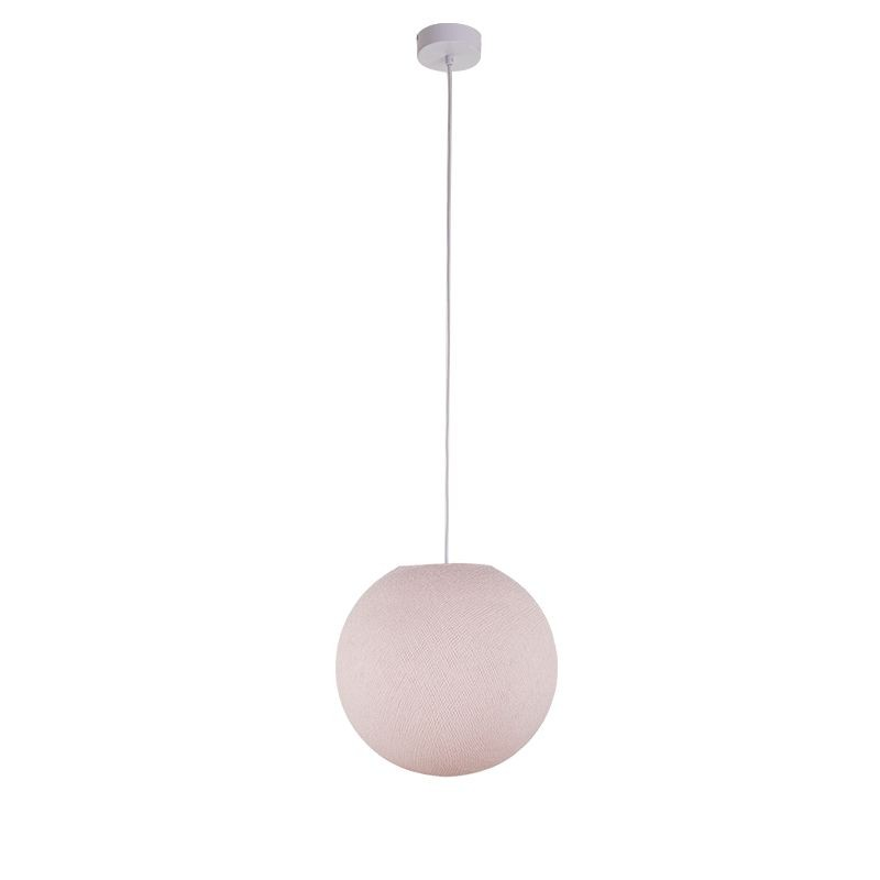 Suspension simple globe S dragée