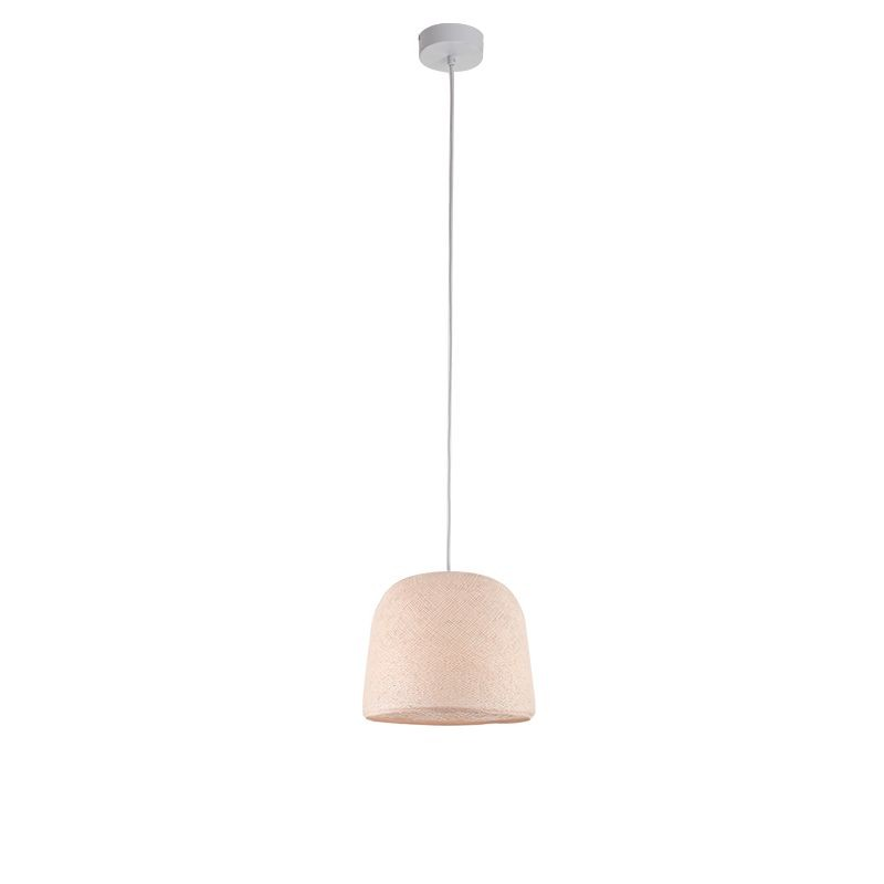 Suspension simple cloche lin