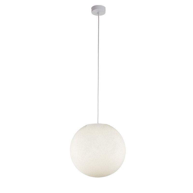 Suspension simple globe M ivoire