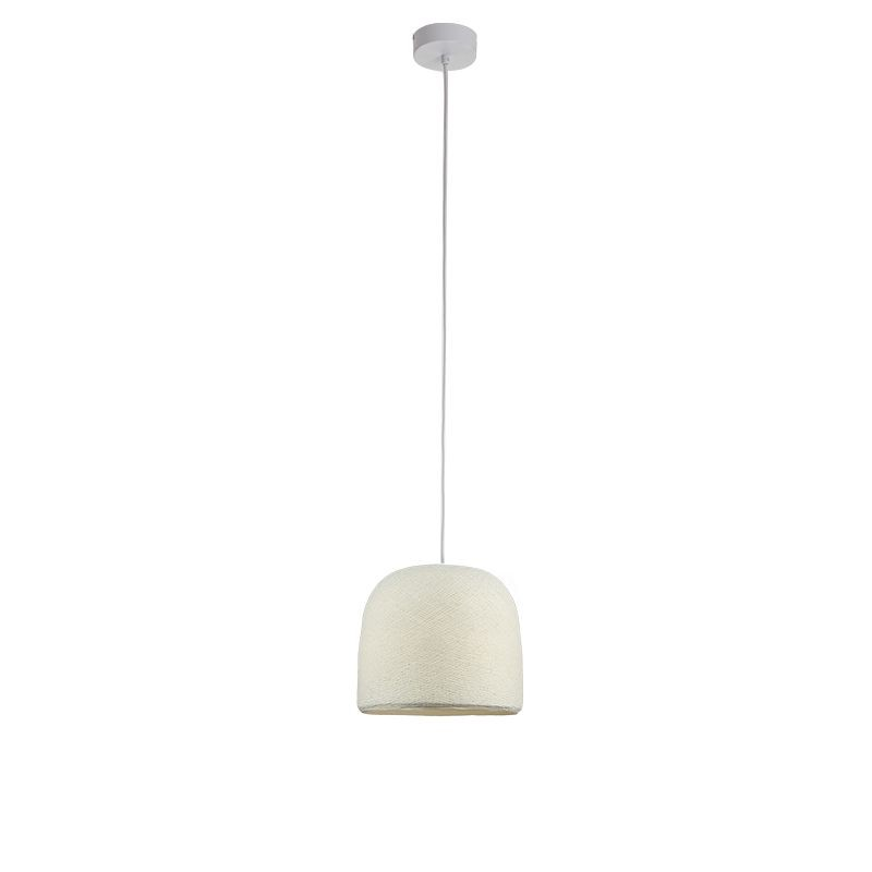 Suspension simple cloche ivoire